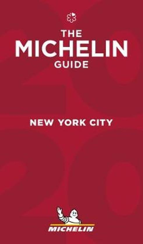Michelin Gids New York City 2020 9782067239050  Michelin Rode Jaargidsen  Hotelgidsen, Restaurantgidsen New York, Pennsylvania, Washington DC