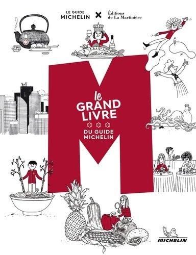 M, le grand livre du Guide Michelin 9782067242913 Philippe Toinard et.al. Michelin   Restaurantgidsen Wereld als geheel