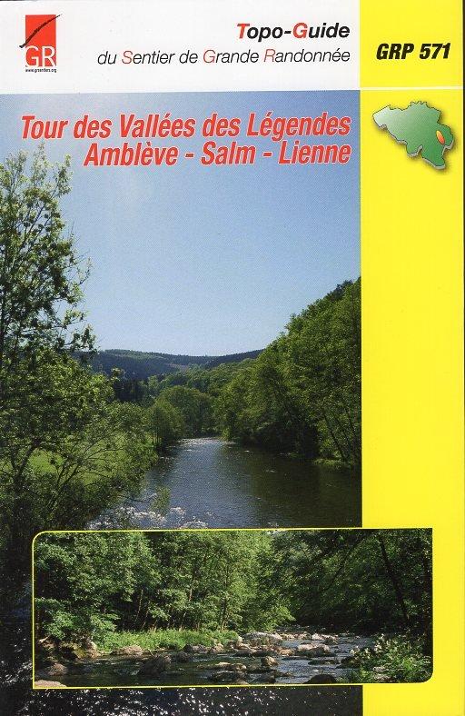 GR-571 Vallées des Légendes | wandelgids 9782930488486  Grote Routepaden Topoguides  Meerdaagse wandelroutes, Wandelgidsen Wallonië (Ardennen)