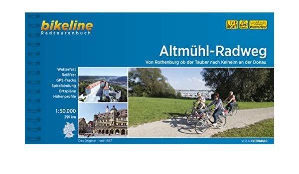 Bikeline Altmühl-Radweg  (230 km) | fietsgids 9783850004459  Esterbauer Bikeline  Fietsgidsen Beieren zonder de Alpen