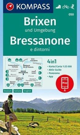 KP-050  Brixen,St.Vigil 1:25.000 | Kompass wandelkaart 9783990444771  Kompass Wandelkaarten   Wandelkaarten Zuidtirol, Dolomieten, Friuli, Venetië, Emilia-Romagna
