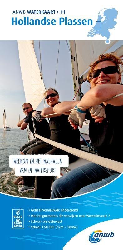 WTK-11 Hollandse Plassen 9789018046064  ANWB ANWB Waterkaarten  Watersportboeken Den Haag, Rotterdam en Zuid-Holland