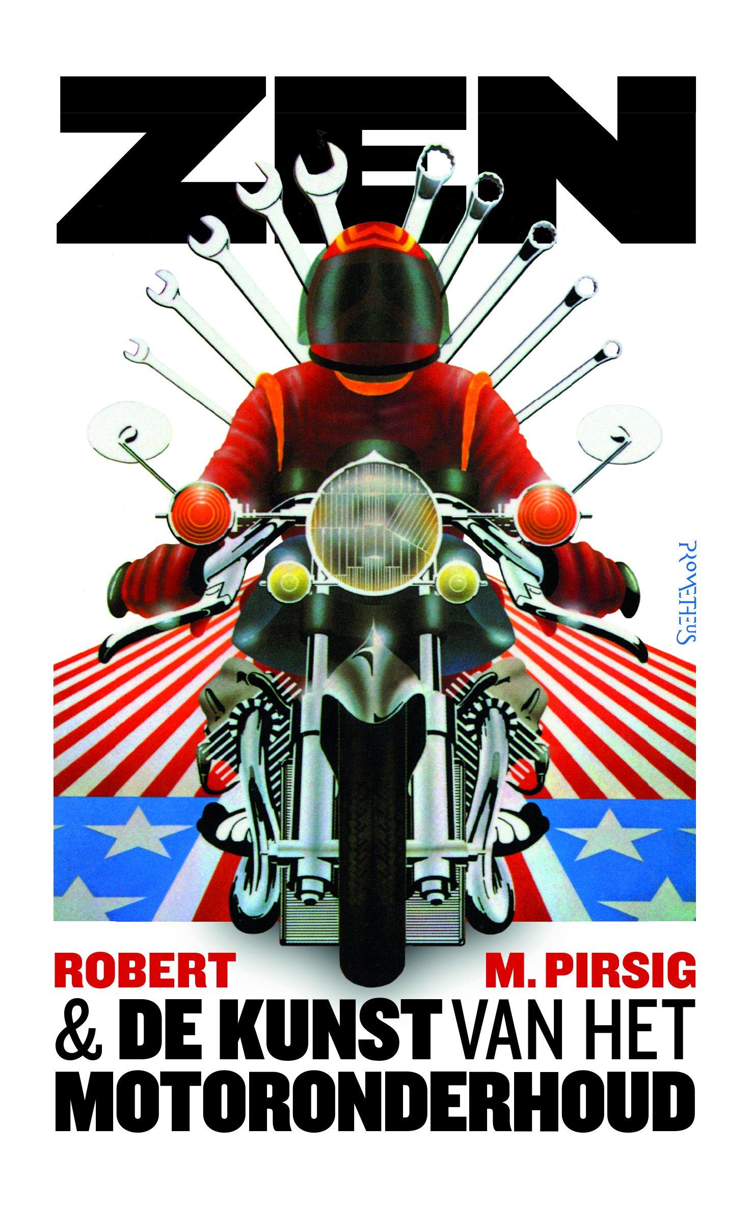 Zen en de kunst van het motoronderhoud 9789044644616 Robert Pirsig Prometheus   Motorsport, Reisverhalen