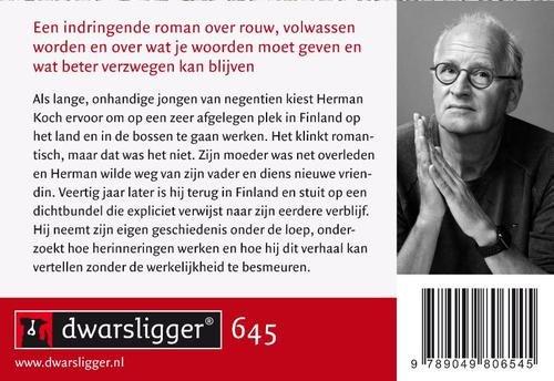 Finse dagen | Herman Koch 9789049806545 Herman Koch Dwarsligger®   Reisverhalen Finland
