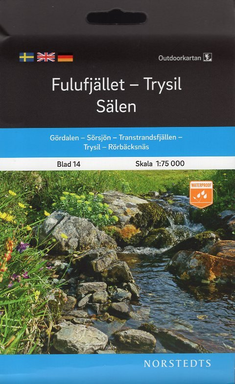 OK-14  Fulufjället, Trysil, Sälen 9789113105116  Norstedts Outdoorkartan (Fjällkartan)  Wandelkaarten Zweden boven Uppsala