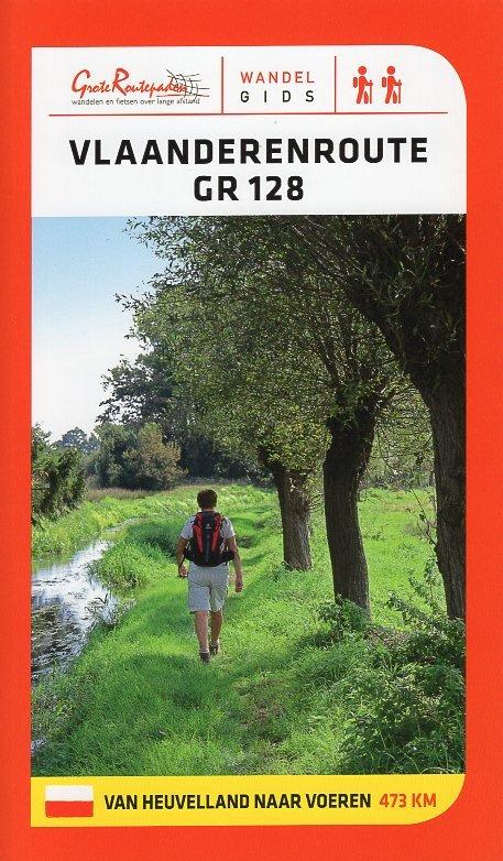 GR-128  Vlaanderenroute (GR128) | wandelgids 9789492608086  Grote Routepaden Topogidsen  Meerdaagse wandelroutes, Wandelgidsen Vlaanderen & Brussel