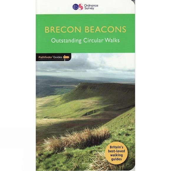 PG-18  Brecon Beacons | wandelgids 9780319090015  Crimson Publishing / Ordnance Survey Pathfinder Guides  Wandelgidsen Zuid-Wales, Pembrokeshire, Brecon Beacons