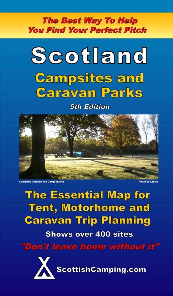 Scotland - Campsites and Caravan Parks Map 9780955304965  Scottish Camping.Com Ltd   Campinggidsen Schotland