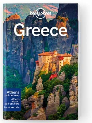 Lonely Planet Greece 9781787015739  Lonely Planet Travel Guides  Reisgidsen Griekenland