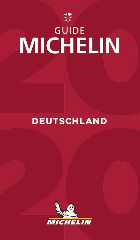 Michelin Gids Duitsland | Deutschland 2020 9782067241886  Michelin Rode Jaargidsen  Hotelgidsen, Restaurantgidsen Duitsland