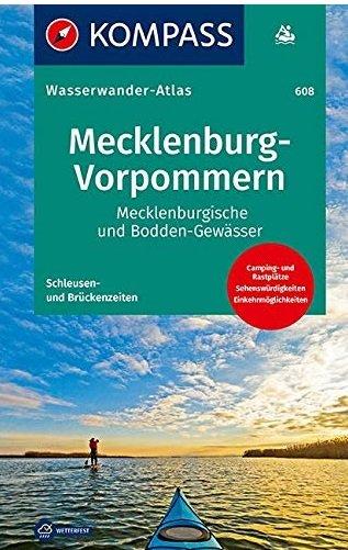 -608 Wasserwanderatlas Mecklenburg-Vorpommern 9783850267410  Kompass   Watersportboeken Mecklenburgische Seenplatte