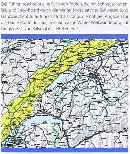 L'Arc Jurassien (Ski- und Schneeschuhtouren) 9783859023505  Schweizerische Alpen Club (SAC) SAC Clubführer  Wintersport Berner Oberland, Basel, Jura, Genève, Jura, Franche-Comté