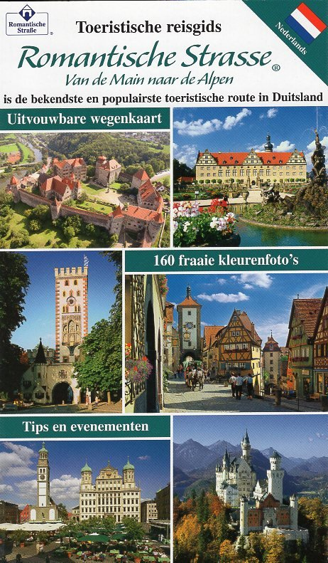 Romantische Strasse (Nederlands) 9783940391292  Sauer, uitgeverij   Reisgidsen Romantische Strasse, Schwaben