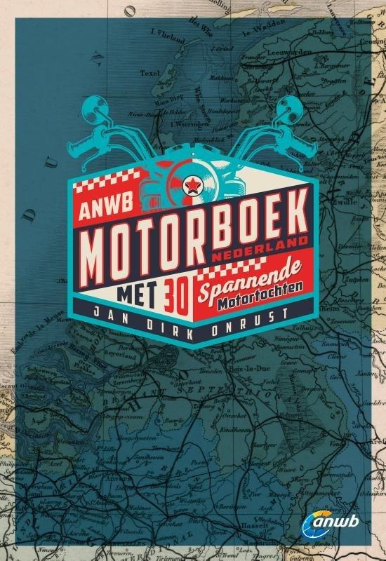 ANWB Motorboek Nederland 9789018046309  ANWB   Motorsport, Reisgidsen Nederland