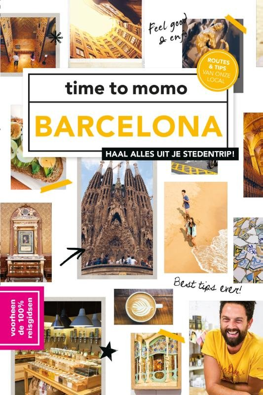 Time to Momo Barcelona (100%) 9789057679520  Mo Media Time to Momo  Reisgidsen Barcelona