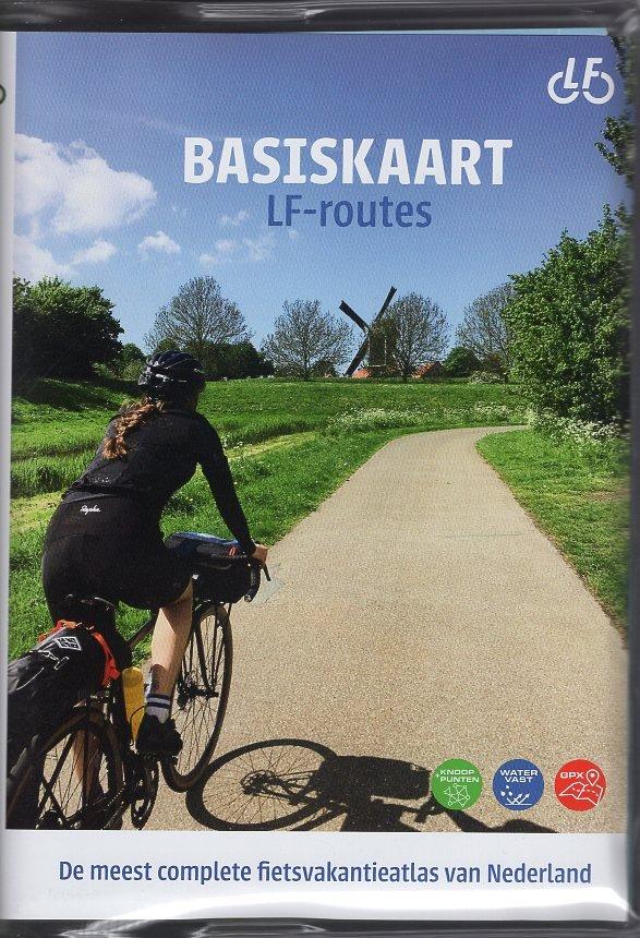 Basiskaart Netwerk LF-routes 9789072930705 Landelijk Fietsplatform Buijten & Schipperheijn meerdaagse fietsroutes (NL)  Fietskaarten, Meerdaagse fietsvakanties Nederland