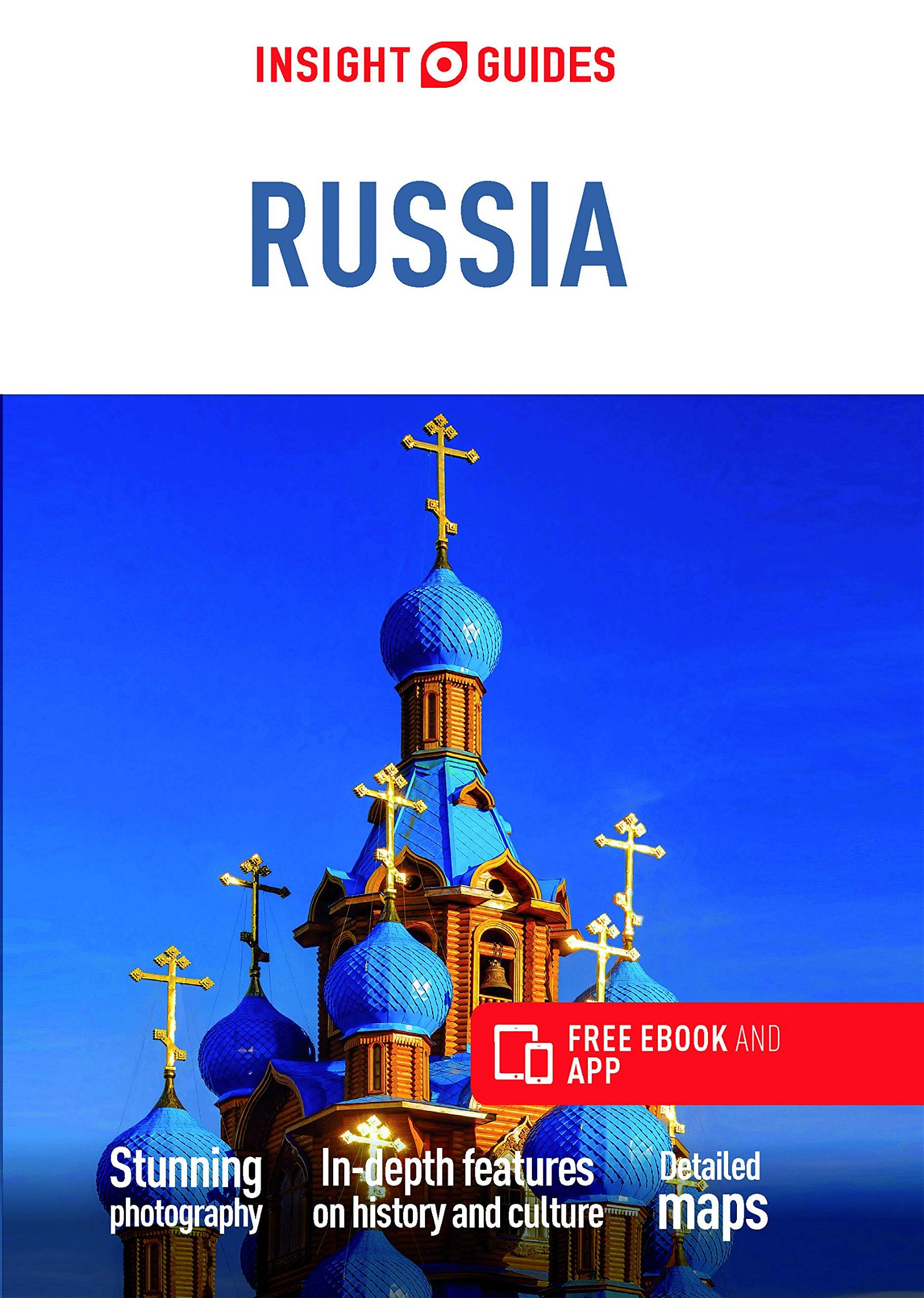Insight Guide Russia 9781839050244  APA Insight Guides/ Engels  Reisgidsen Rusland