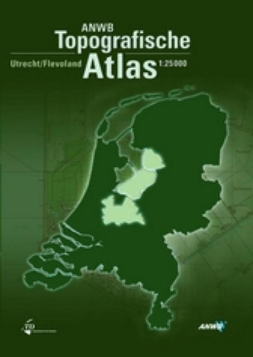 Utrecht/ Flevoland Topografische Atlas 1:25.000 9789018018429  ANWB / Top. Dienst Top. Atlassen 1:25d.  Wandelkaarten Flevoland en het IJsselmeer, Utrecht