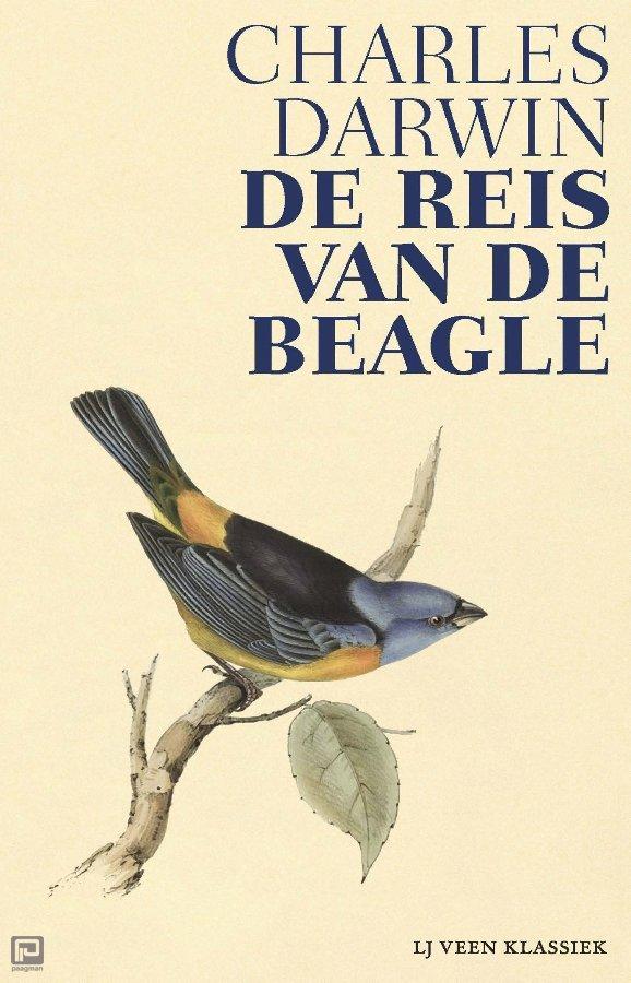 De reis van de Beagle   Charles Darwin 9789020415650 Charles Darwin Atlas-Contact LJ Veen Klassiek  Historische reisgidsen, Landeninformatie, Reisverhalen Wereld als geheel