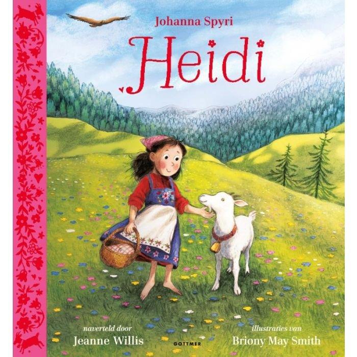 Heidi   kinderboek 9789025772338 Jeanne Willis, ill: Briony May Smith Gottmer   Kinderboeken, Reisverhalen Zwitserland