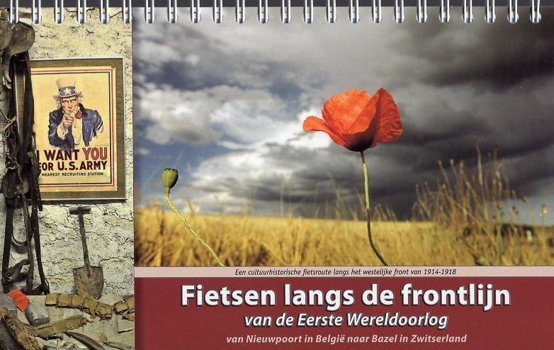 Fietsen langs de frontlijn * FLDF  ReCreatief Fietsen   Fietsgidsen, Historische reisgidsen Europa