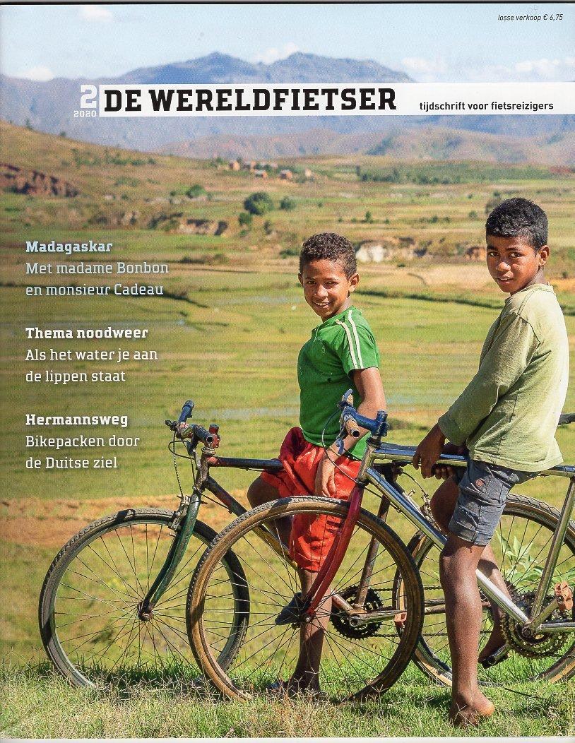 De Wereldfietser | voorjaar 2020 WF20B  De Wereldfietser Tijdschriften  Fietsgidsen Wereld als geheel