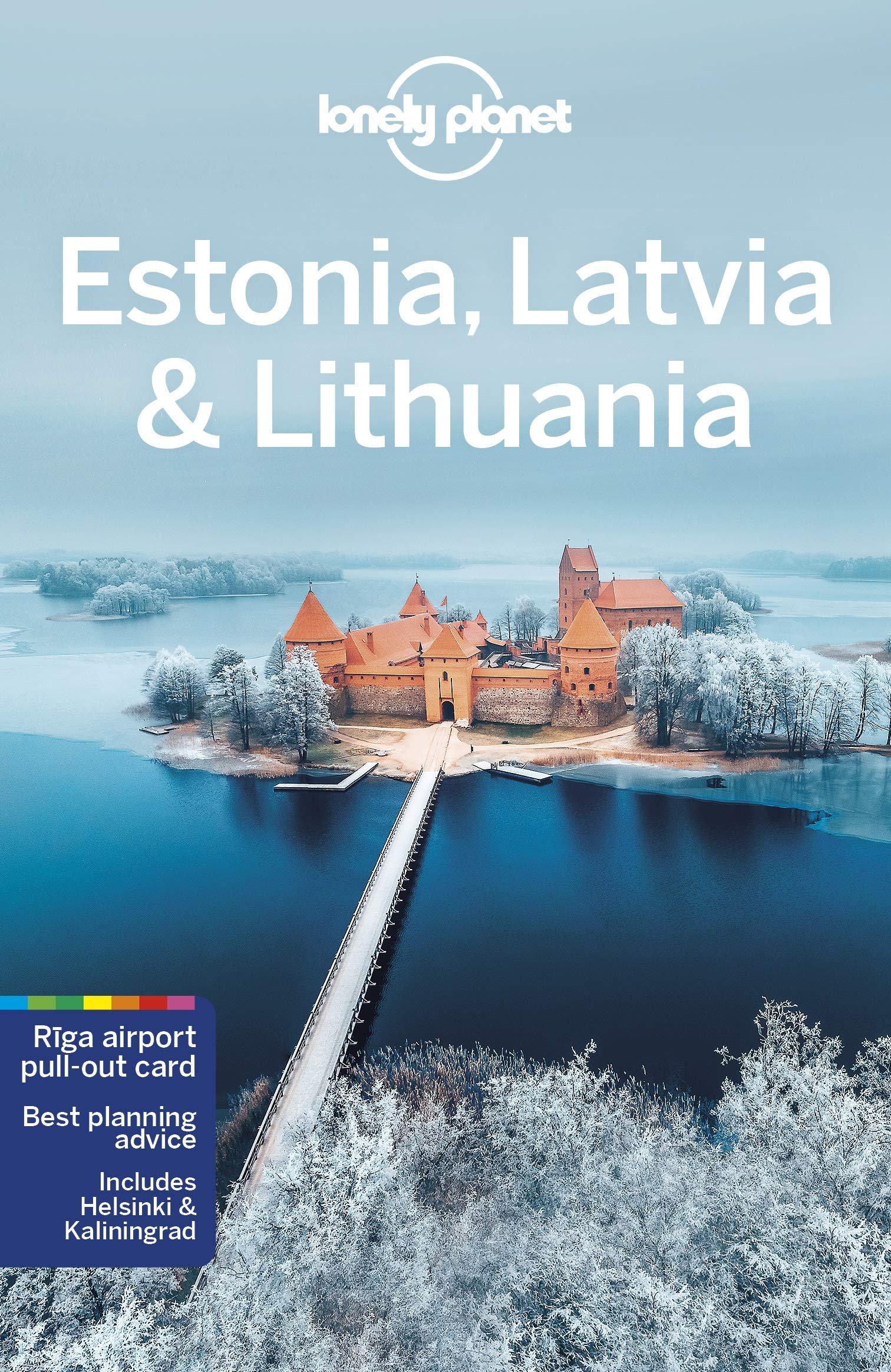 Lonely Planet Estonia, Latvia + Lithuania 9781786575982  Lonely Planet Travel Guides  Reisgidsen Baltische Staten en Kaliningrad