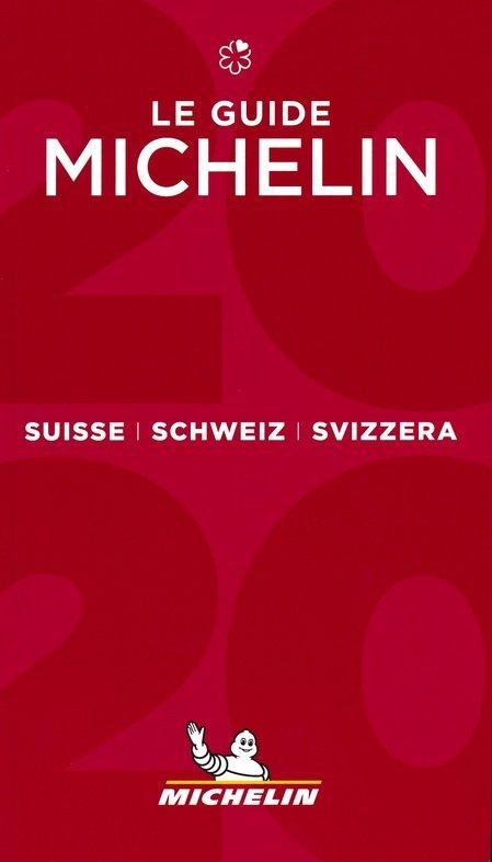 Michelin Gids Zwitserland | Suisse 2020 9782067241879  Michelin Rode Jaargidsen  Hotelgidsen, Restaurantgidsen Zwitserland