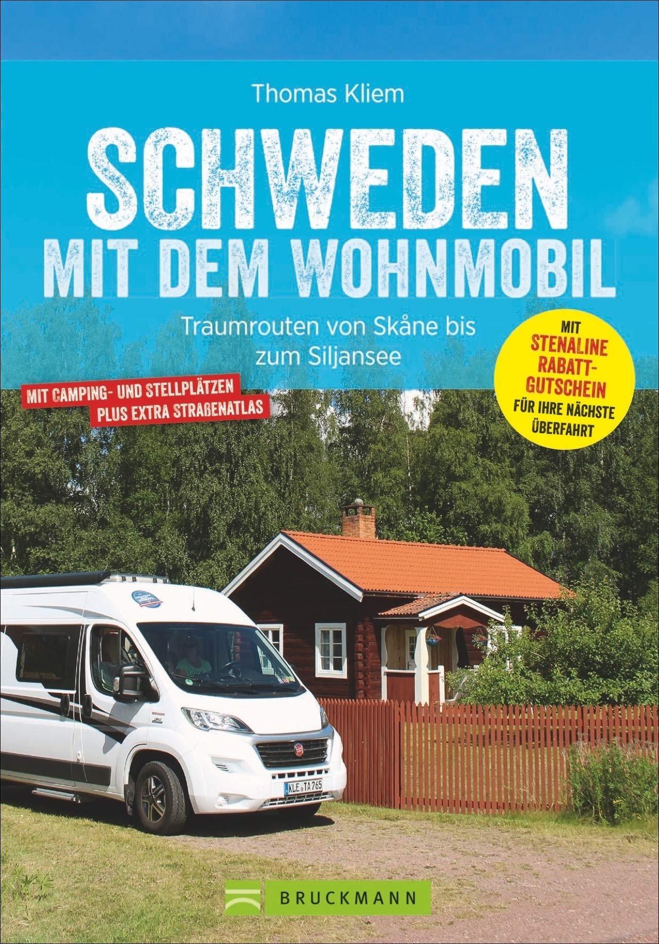 Schweden mit dem Wohnmobil 9783734316067  Bruckmann Bruckmann, mit dem Wohnmobil  Op reis met je camper, Reisgidsen, Wegenatlassen Zweden
