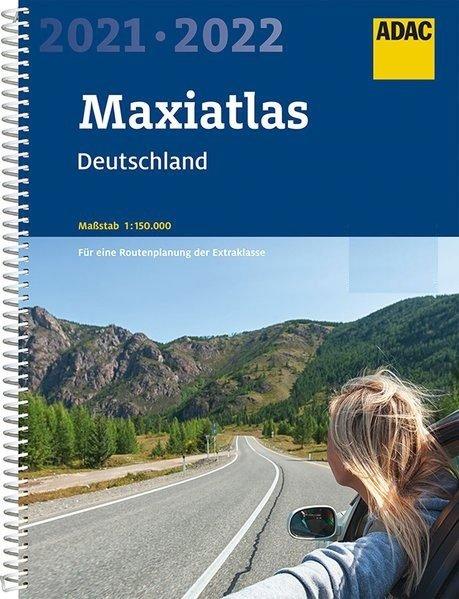 Deutschland Maxi-Atlas 1/150.000, 2020-2021 9783826422638  ADAC Wegenatlassen  Wegenatlassen Duitsland