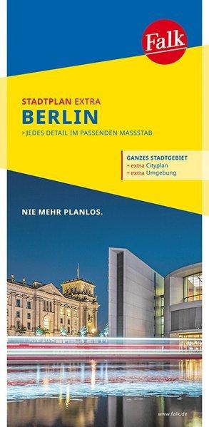 Berlijn, stadsplattegrond 9783827926784  Falk Stadsplattegronden  Stadsplattegronden Berlijn