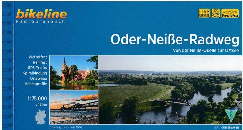 Bikeline Oder-Neisse-Radweg | fietsgids 9783850008037  Esterbauer Bikeline  Fietsgidsen, Meerdaagse fietsvakanties Oost-Duitsland