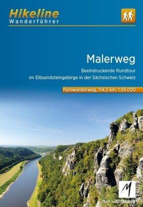 Malerweg | Hikeline Wanderführer (wandelgids) 9783850008327  Esterbauer Hikeline wandelgidsen  Meerdaagse wandelroutes, Wandelgidsen Erzgebirge, Elbsandsteingebirge, Lausitz