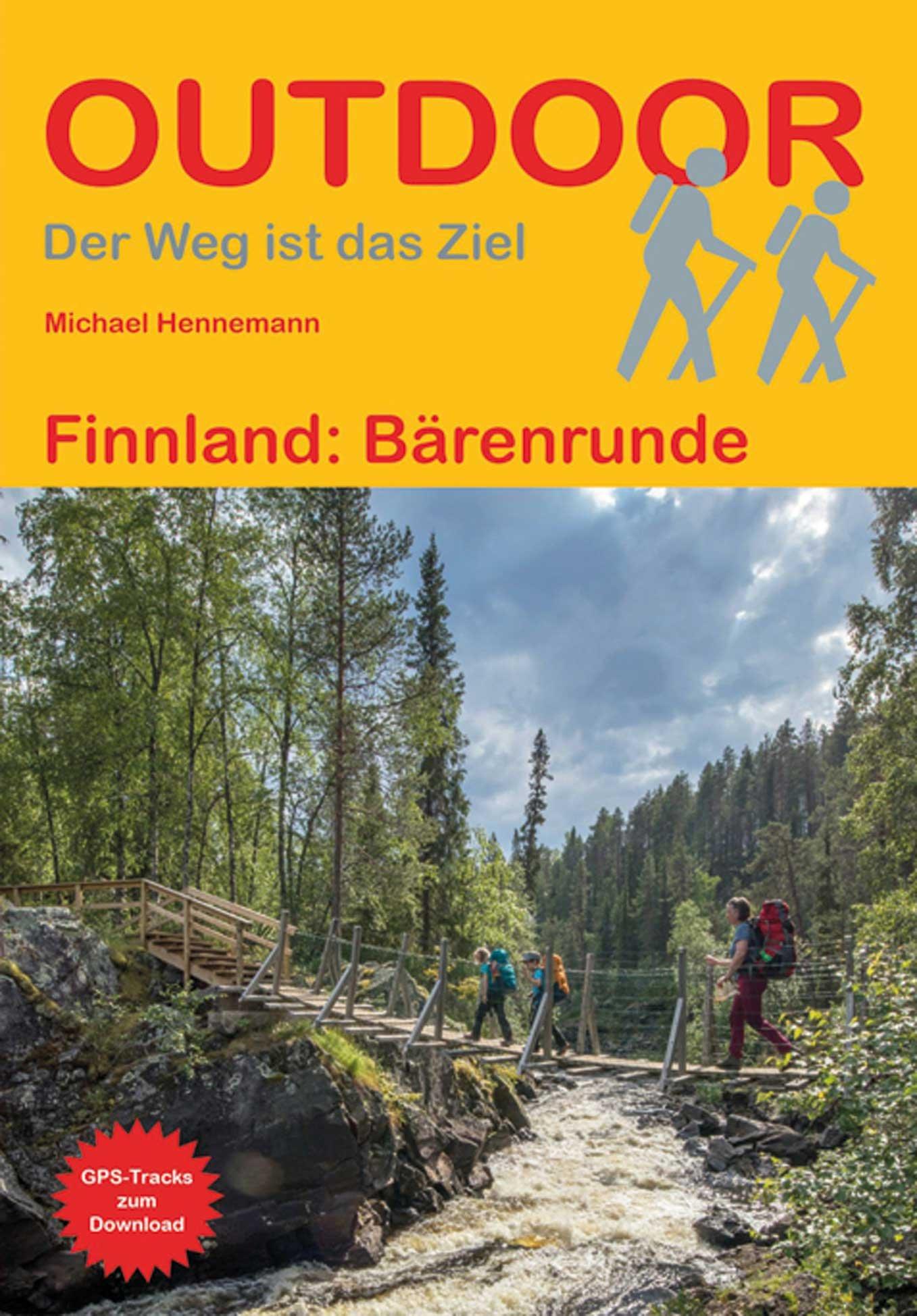 Bärenrunde | wandelgids (Duitstalig) 9783866866676 Hennemann Conrad Stein Verlag Outdoor - Der Weg ist das Ziel  Meerdaagse wandelroutes, Wandelgidsen Finland
