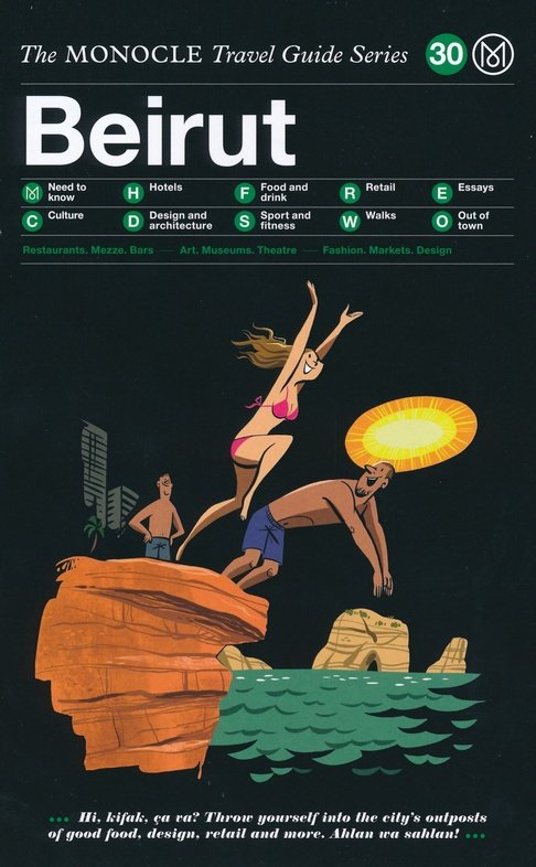 The Monocle Travel Guide to Beirut 9783899559446  Gestalten   Reisgidsen Syrië, Libanon, Jordanië, Irak