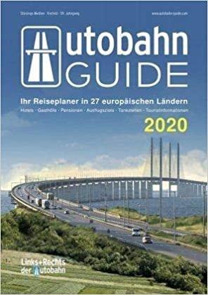 Autobahn Guide (Links & rechts van de snelweg) 2020 9783981884524  Stünings Medien   Hotelgidsen Duitsland, Europa