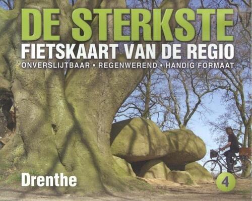 DSF-04 De sterkste fietskaart van Drenthe 1:50.000 9789058817099  Buijten & Schipperheijn DSF  Fietskaarten Oost Nederland