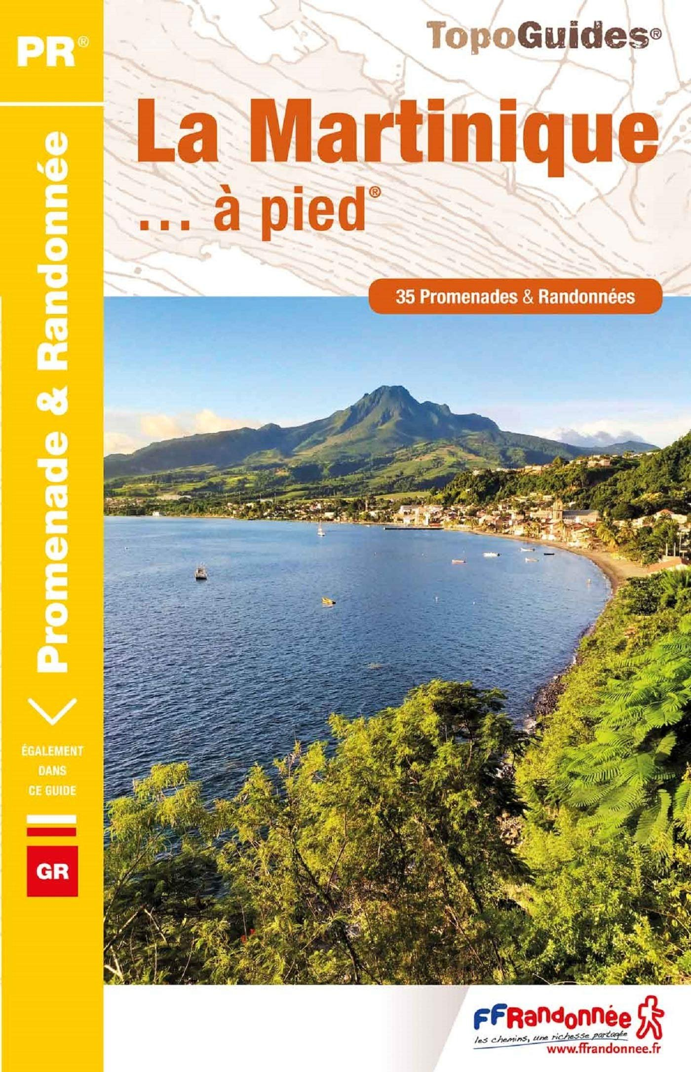 D972  Martinique à pied | wandelgids 9782751403552  FFRP Topoguides  Wandelgidsen Overig Caribisch gebied