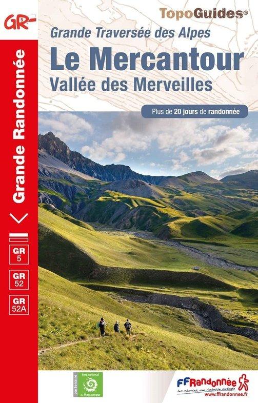 GR-5 | TG507 Traversée du Mercantour | wandelgids GR5 9782751410727  FFRP Topoguides  Meerdaagse wandelroutes, Wandelgidsen Côte d'Azur, Franse Alpen: zuid