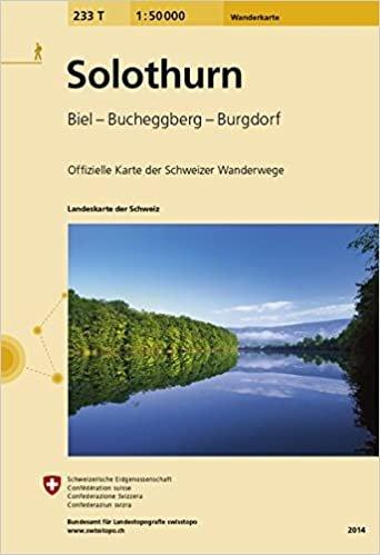 233T  Solothurn [2020] 9783302302331  Bundesamt / Swisstopo SAW 1:50.000  Wandelkaarten Berner Oberland, Basel, Jura, Genève