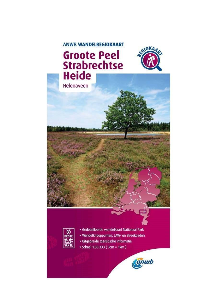 WRK-35 Groote Peel en Strabrechtse Heide | wandelkaart 1:33.333 9789018046699  ANWB Wandelregiokaarten 1:33.333  Wandelkaarten Noord- en Midden-Limburg, Noord-Brabant