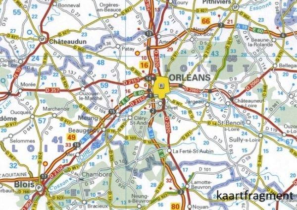 721 Frankrijk 1:1.000.000  2019 9782067236523  Michelin Michelinkaarten Jaaredities  Landkaarten en wegenkaarten Frankrijk