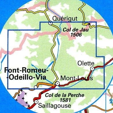 2249ET  Font Romeu, Capcir | wandelkaart 1:25.000 9782758522430  IGN TOP 25 (1:25.000) Wandelkaarten Franse Pyreneeën  Wandelkaarten Franse Pyreneeën, Toulouse, Gers, Garonne