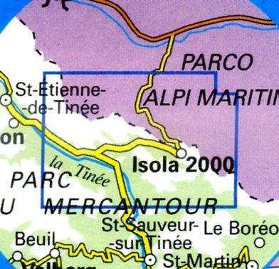 3640ET  Haute-Tinée 2, Isola 2000 | wandelkaart 1:25.000 9782758523833  IGN TOP 25  Wandelkaarten
