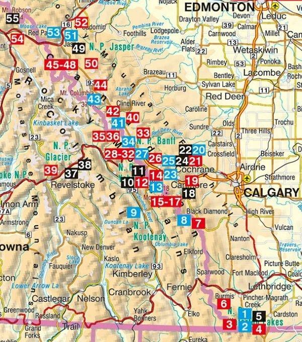 Kanadische Rocky Mountains | Rother Wanderführer 9783763345274  Bergverlag Rother RWG  Wandelgidsen West-Canada, Rockies