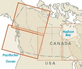 landkaart, wegenkaart West-Canada 1:1.900.000 9783831773053  Reise Know-How WMP Polyart  Landkaarten en wegenkaarten West-Canada, Rockies