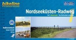 Bikeline Nordseeküsten-Radweg 1 | fietsgids 9783850004602  Esterbauer Bikeline  Fietsgidsen, Meerdaagse fietsvakanties Nederland