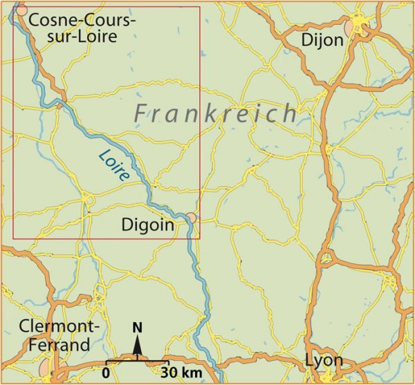 Kanu Kompakt Loire 1 9783934014428  Thomas Kettler   Watersportboeken Bourgogne, Morvan, Côte-d'Or