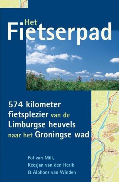 Het Fietserpad 9789038918976  Elmar   Fietsgidsen Nederland