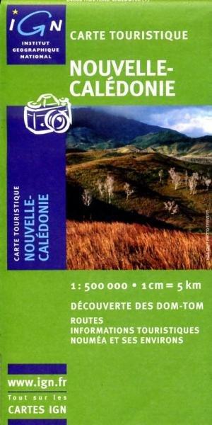 New Caledonia / Nouvelle Caledonie 1:500.000 3282118400614  IGN   Landkaarten en wegenkaarten Pacifische Oceaan (Pacific)